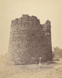 Round watch tower, Narsipur